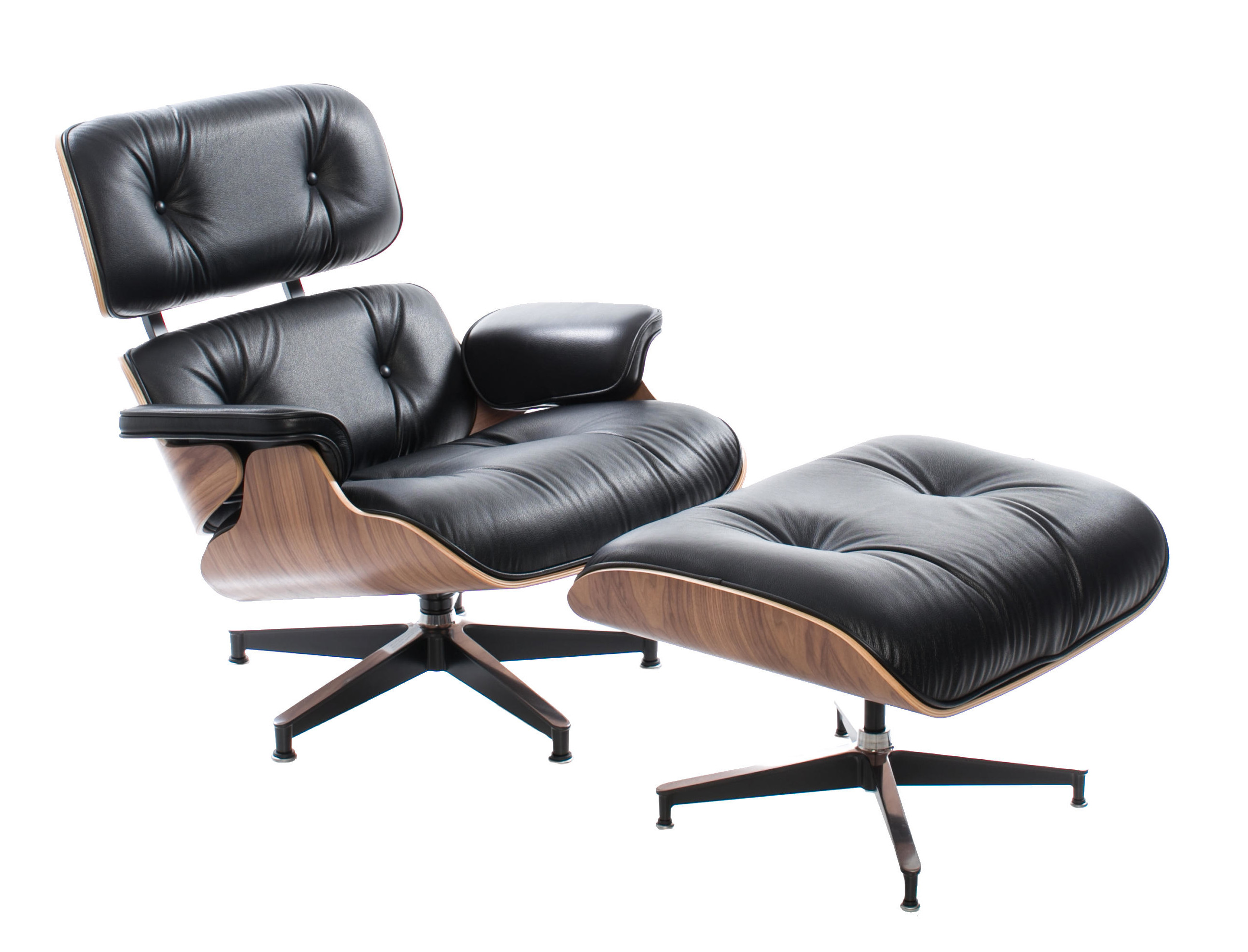 film lounge vintage furniture recliner chair eames pamono ottoman product and