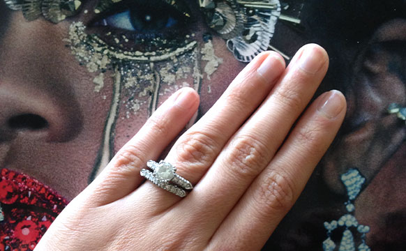 Editors engagement ring stories