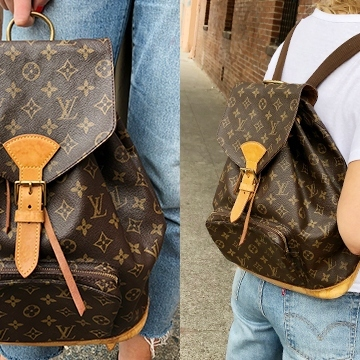 RealStyle | How To Spot A Real Louis Vuitton Backpack