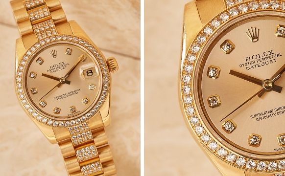 RealStyle | How To Spot A Real Diamond Watch