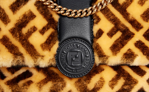 RealStyle | Real Fendi Logo Bag