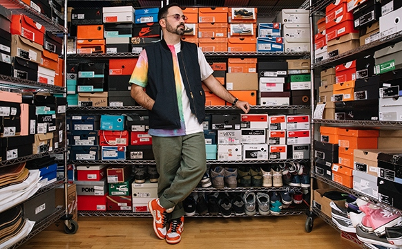 RealStyle | How To Collect Sneakers Like A Pro - Sean Conway