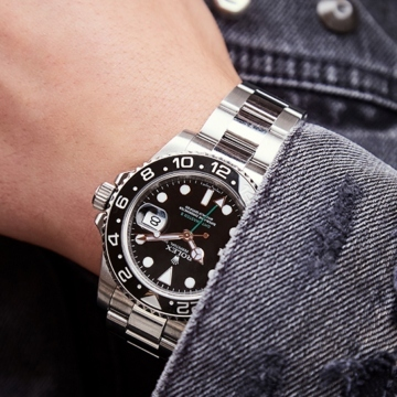 Rolex GMT-Master II On A Wrist