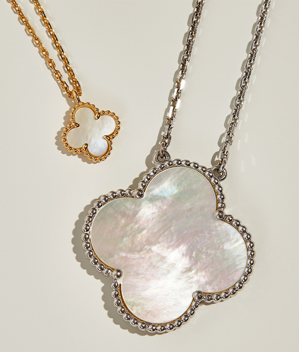 Van Cleef & Arpels Sweet & Magic Alhambra Mother of Pearl Necklaces