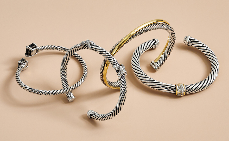 David Yurman Cable Bracelets