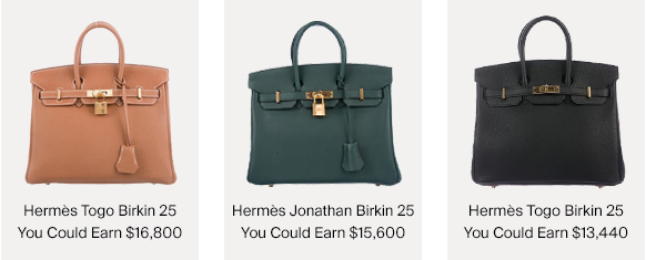 Hermès Birkin Bags & How Much You Could Earn For Selling Them