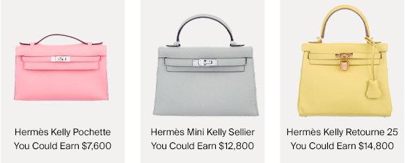 Hermès Kelly Bags & How Much You Could Earn For Selling Them